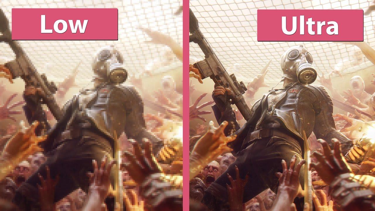 Killing Floor 2 Pc Low Vs Ultra 4k Uhd Graphics Comparison Youtube