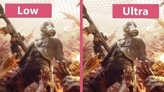 Killing Floor 2 – PC Low vs. Ultra 4K UHD Graphics Comparison