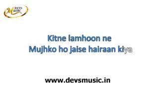 Aaj Kal Zindagi Karaoke Wake up Sid www.devsmusic.in Devs Music Academy
