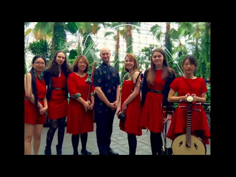 New Trier Chinese Music & Arts Club performs at Navy Pier