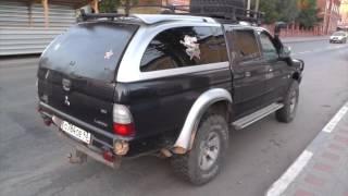 видео Тест-драйв Mitsubishi L200: Неделя проходимости