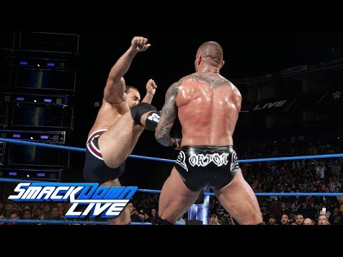 Randy Orton vs. Rusev: SmackDown LIVE, Sept. 19, 2017