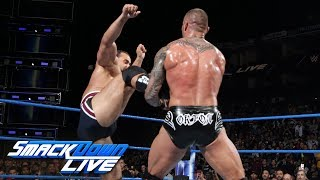 Randy Orton vs. Rusev: SmackDown LIVE, Sept. 19, 2017 thumbnail