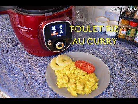 poulet,-riz-au-curry-au-cookeo-|-sally-cuisine-{episode-3}