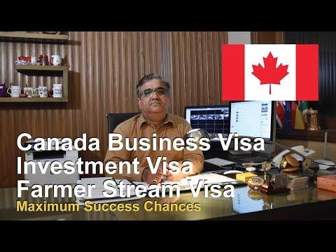 Canada Business Visa / Investment Visa / Farmer Stream Visa