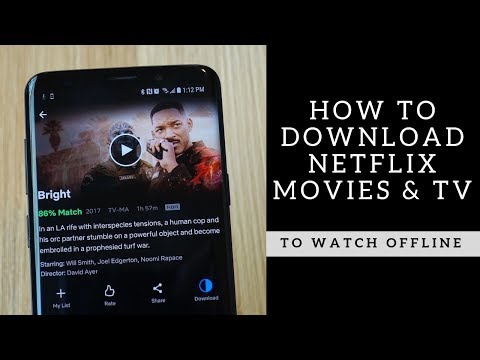 How To Download Netflix Movies & Shows Offline