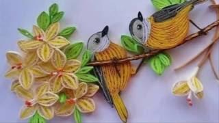 [Tranh Quilling] #7 - Hướng Dẫn Làm tranh quilling Hoa ✿