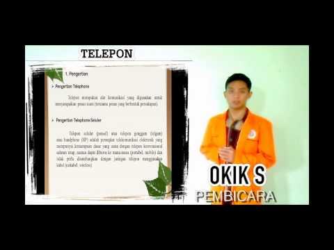 Dasar Telekomunikasi (materi radio, televisi, telephone)