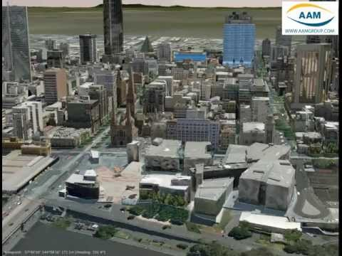 3D Melbourne Model by AAM