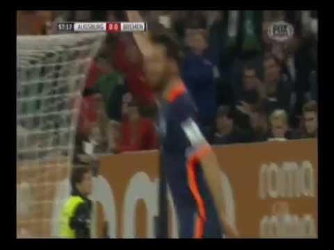 Werder Bremen, con gol de Claudio Pizarro, ganó 2 1 a Ausburgo por Bundesliga   Depor pe