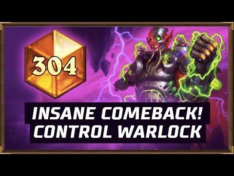 Insane Comeback! Howlfiend Control Warlock | The Boomsday Project | Hearthstone