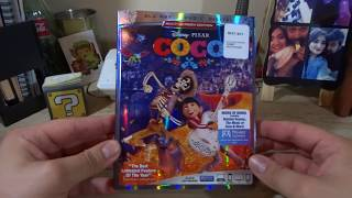 Coco Blu-ray DVD Unboxing