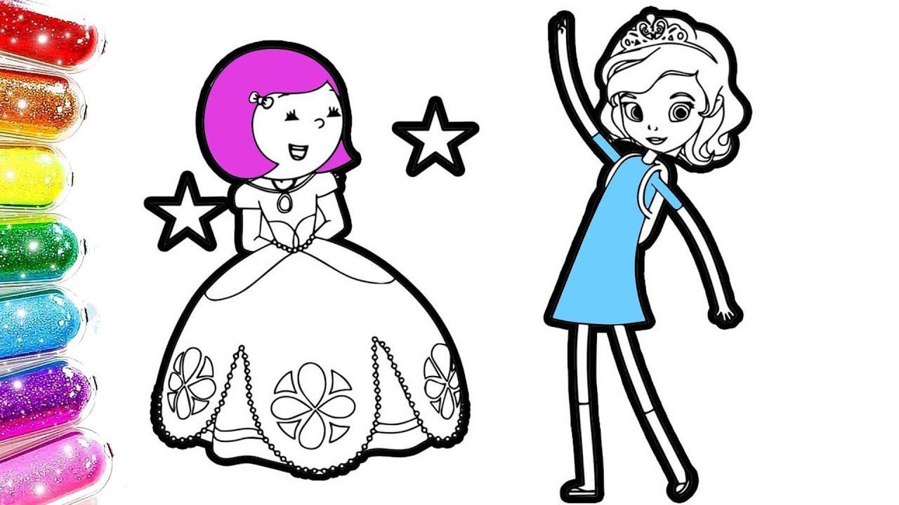 Ibi Tosi Prenses Sofia Kafa Değiştirme Oyunu Boyama Youtube