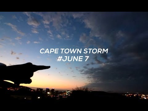 THE STORM THAT HIT CAPE TOWN | Jadon Moerdyk