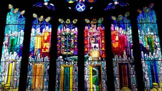 Crear McCartney Stained Glass Window St Michael