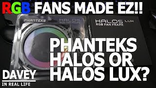 Back when I looked at the Phanteks Halos Lux RGB Fan Frame, I openl...