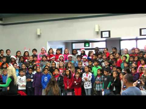 Santa Claus Is Coming to Town - Performed by John Muir Elementary 2nd Graders - 12/18/13