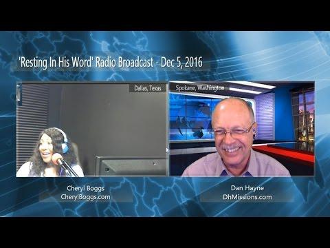 Dan Hayne - Radio Broadcast - Dec 5, 2016 - Your Promise Has Power