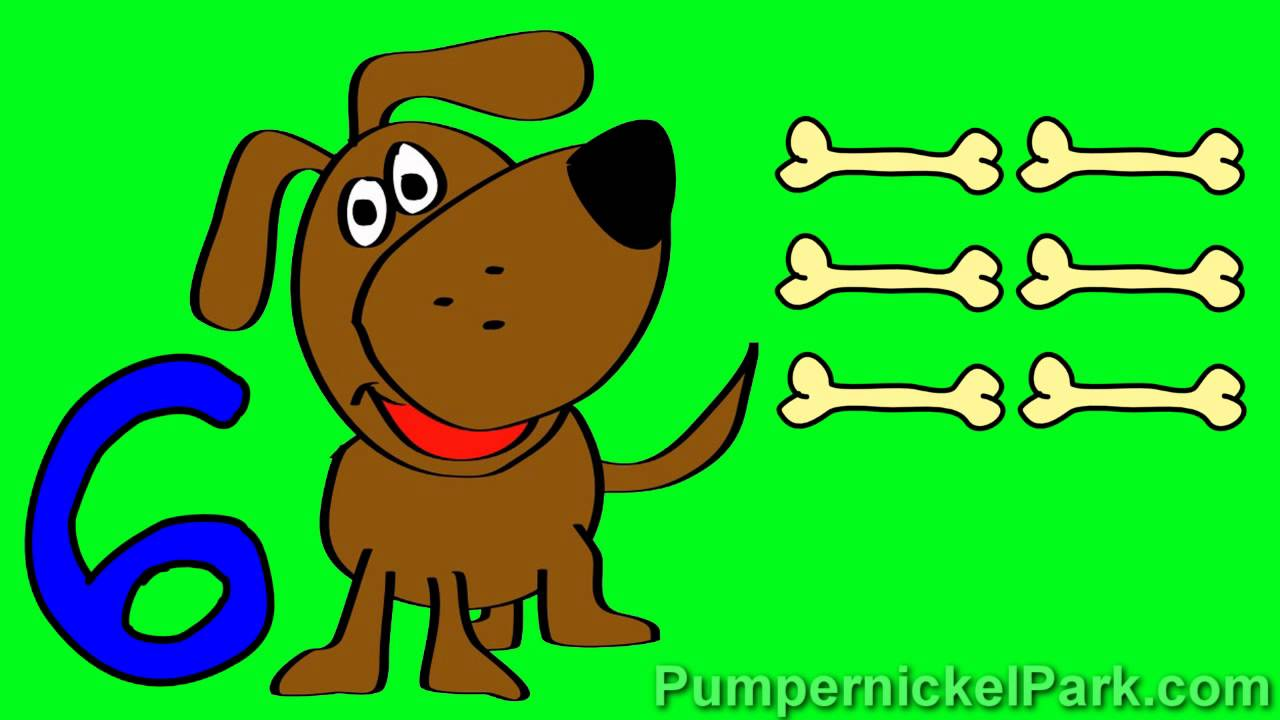 Doggy Numbers 1 to 10: Count Dog Bones Numbers 1 to 10 Stories for ...