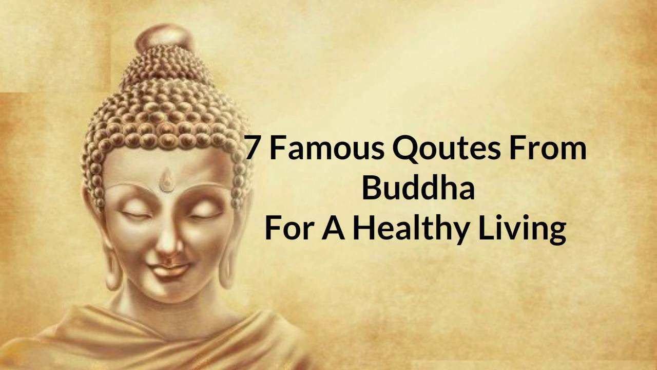 Healthy Living Quotes 7 Quotesbuddha For A Healthy Living. Youtube