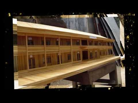 Nhà Giáo Lý bằng Tăm tre - Gx.Định Quán ( Biệt Thự Xinh - DinhQuan.info)