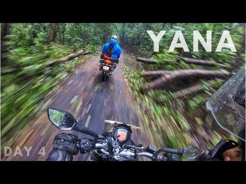 Yana in Rain - Pre Monsoon Ride - Day 4 - GoPro Man