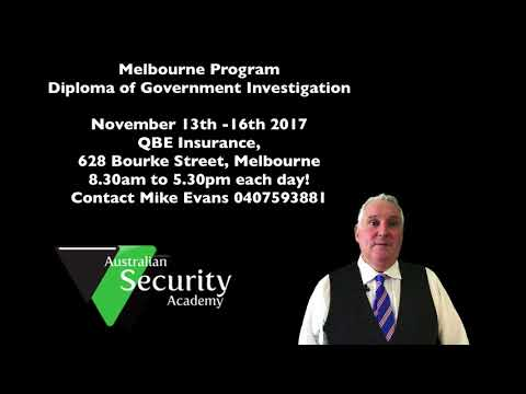 Diploma of Government Investigation.  Study now Pay Later for Government Departments