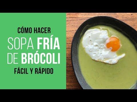 Sopa Fría de Brócoli