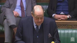 Sir Nicholas Soames MP's Speech in the Debate on the EU Withdrawal Act - 11th January 2019