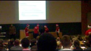 Weihnachten in der Vorlesung