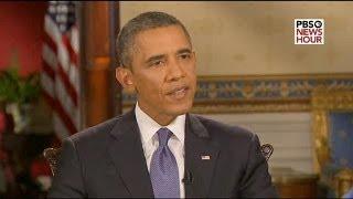 """أوباما غير واثق من تأييد الكونغرس ويصف المبادرة الروسية بشأن سوريا ب """"التطور الإيجابي"""""""