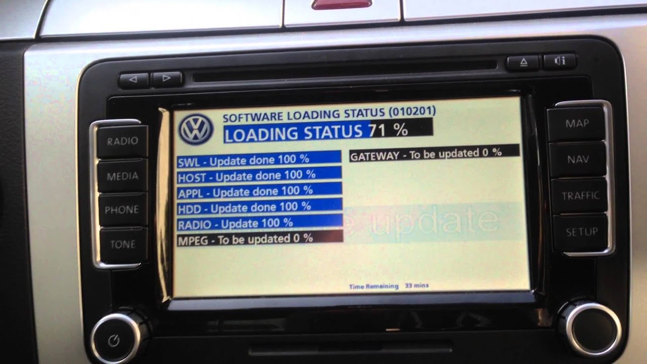vw rns 510 firmware update youtube