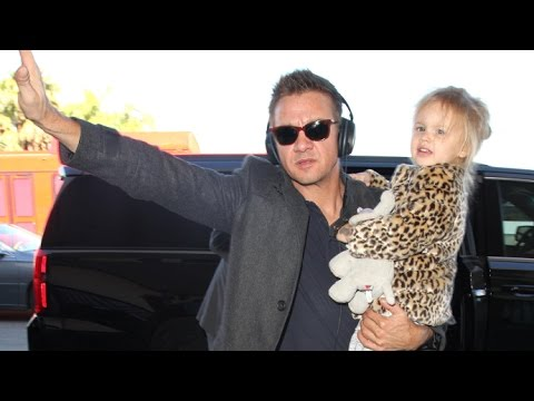 Jeremy Renner Is Protective Of Daughter Ava Following Donald Trump's Victory