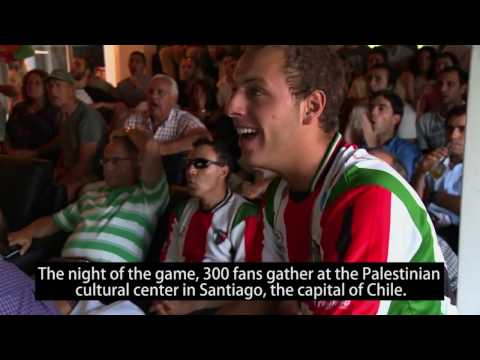 The Chilean soccer club that loves Palestinians
