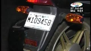 Motociclista resultó con graves lesiones tras chocar contra un taxi