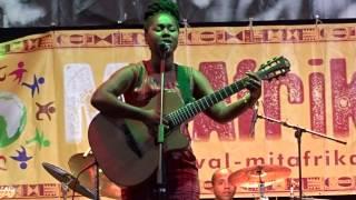 Elida Almeida Live @Cologne MitAfrika Festival 2015 - Nta Konsigui (I