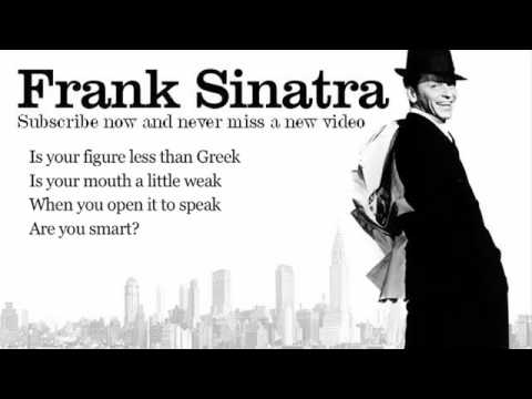 My Funny Valentine Frank Sinatra Lyrics Valentijn Selectie Selection A4 Education Only