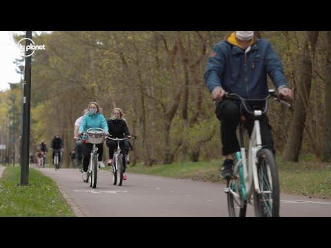 Biking surges in