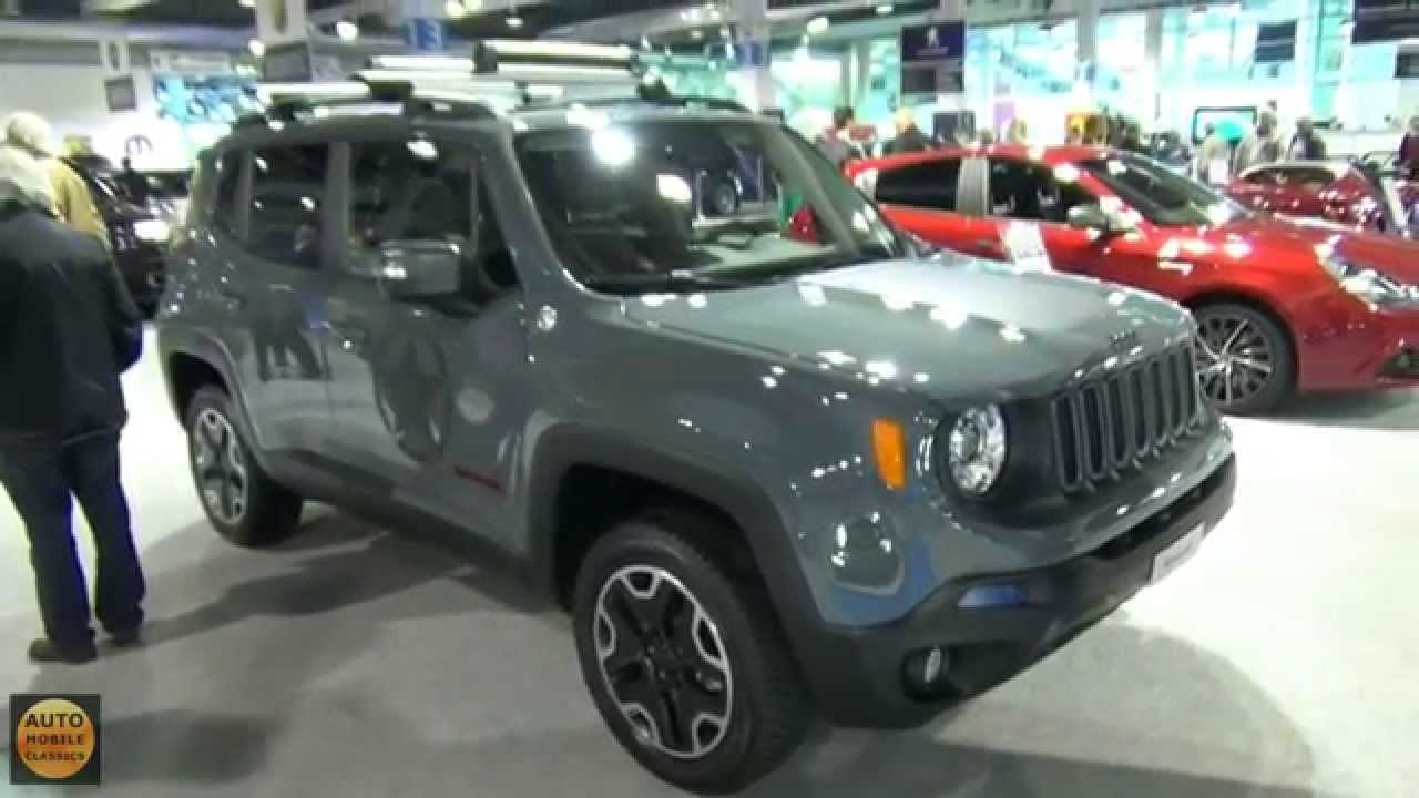 2016 Jeep Renegade Trailhawk Exterior And Interior Z Rich Car Show 2015 Youtube