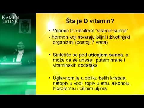 Vitamin D3 - Čudotvorni lek - predavanje