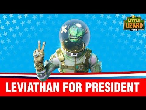 VOTING FOR A FORTNITE PRESIDENT!  Fortnite Short Film