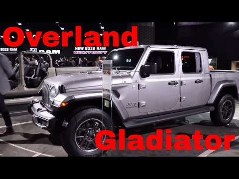 NEW 2020 JEEP GLADIATOR OVERLAND ALL NEW PREMIUM INTERIOR AND EXTERIOR FULL HD WALK AROUND
