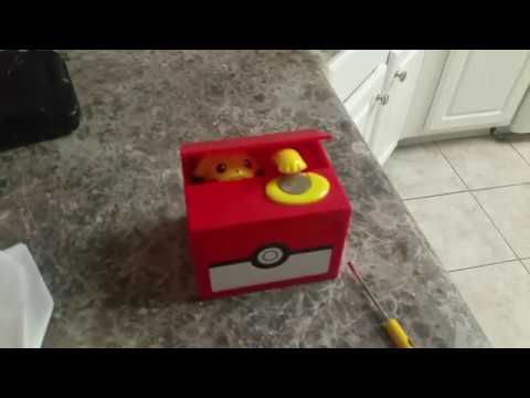 Pikachu Coin Bank