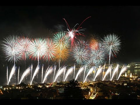 Madeira New Year Fireworks 2018 Live Broadcast