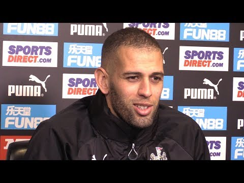 Islam Slimani Press Conference - On Potential Newcastle Debut Against Manchester United