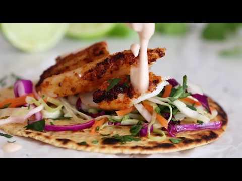 Healthy Cod Fish Taco Recipe