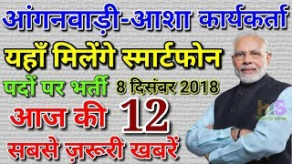 Anganwadi Worker Latest News Today 2018| Asha Sahyogini Salary, Vetan, Bhari, Job Vacancy,SmartPhone