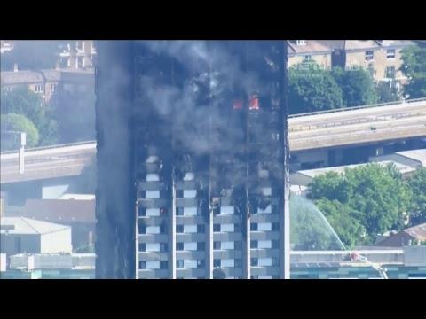 Breaking News - London Fire