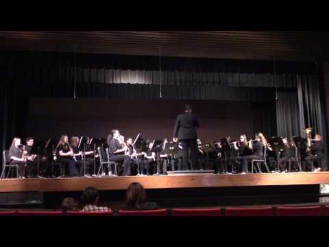Castle South Middle School, 6th Grade Band, ISSMA, March 17, 2017