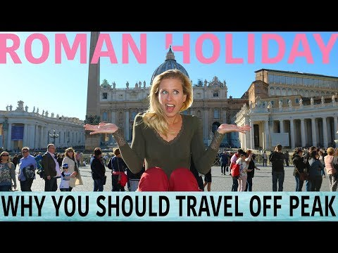 Rome in off-peak season | Travel vlog with travel hacks for Rome | BEST OF ITALY